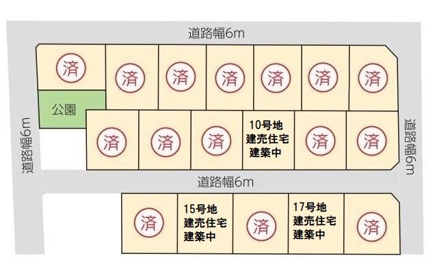 【東小田】サニーガーデン東小田Ⅰ 全18区画